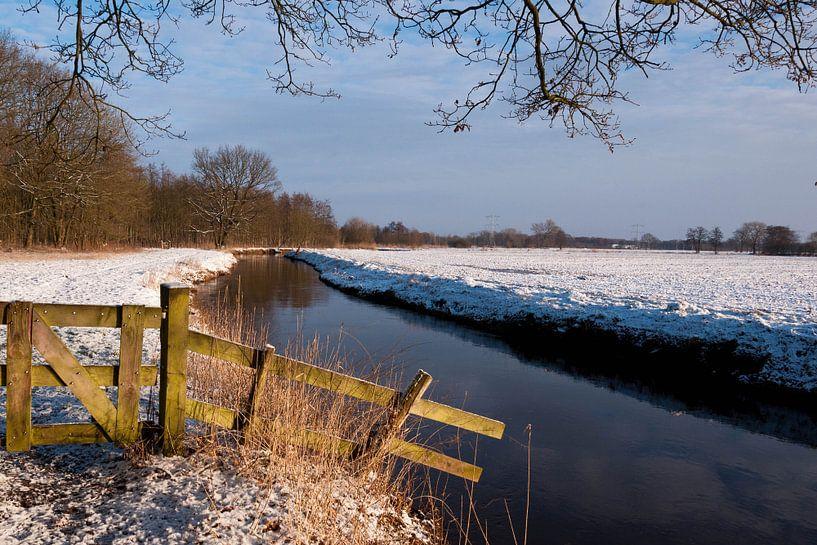 Winterlandschap van Bas Wolfs