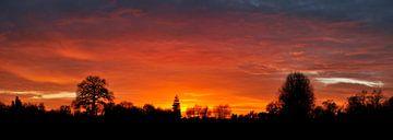 Bunter Sonnenuntergang von Corinne Welp
