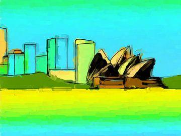 Opera house Sydney van