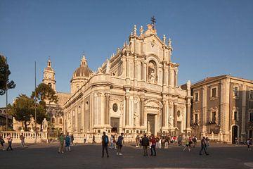 Kathedrale Dom Santa Agata, Catania, Piazza del Duomo, Catania, Sizilien, Italien, Europa