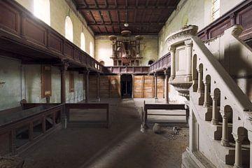 verlaten kerk van Kristof Ven