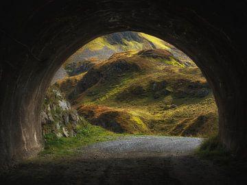 Licht am Ende des Tunnels von Karin vd Waal