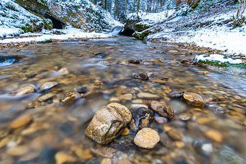 Stille Winterbeek van MindScape Photography