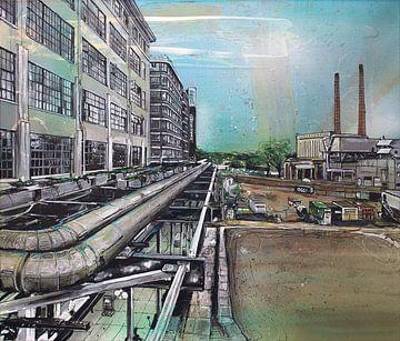 Eindhoven malerei von Jos Hoppenbrouwers