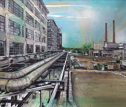 Eindhoven Strijp-S schilderij
