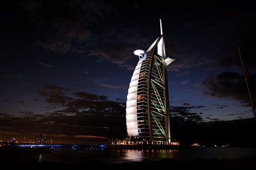 Burj-Al-Arab van