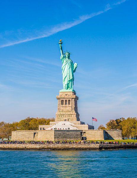 Vrijheidsbeeld, Statue of Liberty New York van Maarten Egas Reparaz