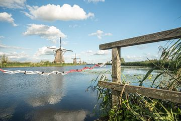 Kinderdijk in holland van Marcel Derweduwen