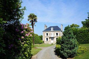 Normandisch huis met tuin