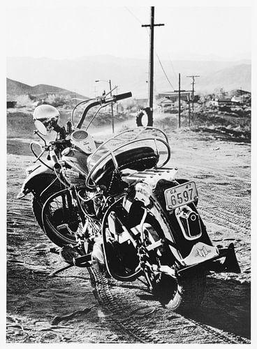 Route66 - WLA Harley Davidson van