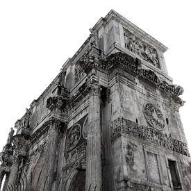 Forum Romanum (Nahtloses Weiss) von Joram Janssen