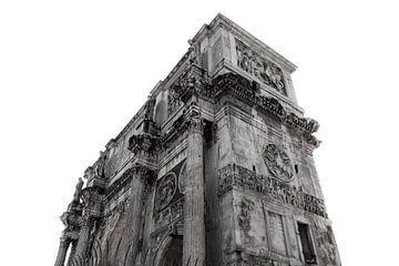 Forum Romanum (Seamless White) van Joram Janssen