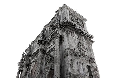 Forum Romanum (Nahtloses Weiss)