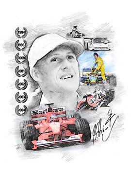 Michael Schumacher van Theodor Decker