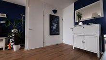 Photo de nos clients: Nature morte III- Bleu Delft sur Marja van den Hurk, sur toile