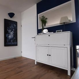 Kundenfoto: Stillleben III- Delft Blau von Marja van den Hurk, auf leinwand