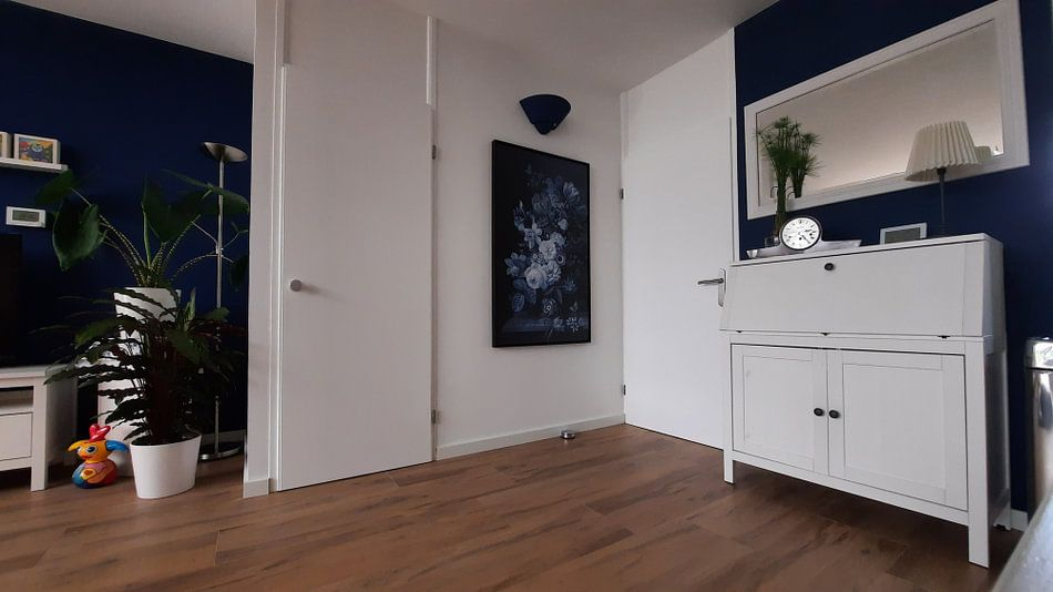 Photo de nos clients: Nature morte III- Bleu Delft sur Marja van den Hurk