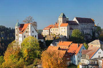 Burg Hohnstein im Herbst von Markus Lange