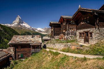 Das Matterhorn in der Schweiz von Achim Thomae
