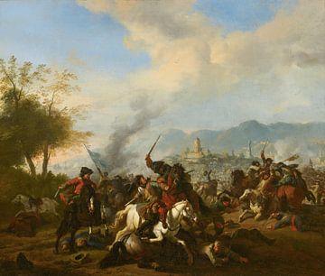 Rencontre der Kavallerie