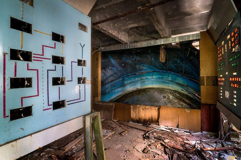 Verlaten Controle Kamer. van Roman Robroek