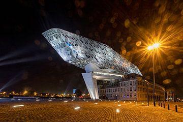 Hafenhaus Antwerpen von Ronenvief
