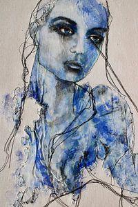 """""""Blaues Mädchen"""