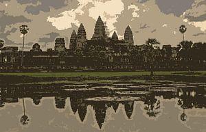 Angkor Wat van Gert-Jan Siesling