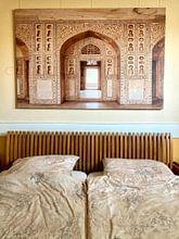 Kundenfoto: Agra-Fort in Indien, Asien | Reisefotografie von Lotte van Alderen, auf leinwand