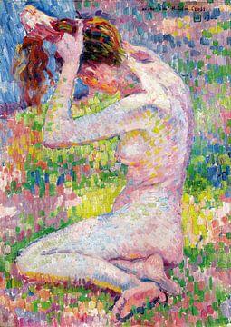 Sitzender Akt - Theo van Rysselberghe - 1905 von Atelier Liesjes