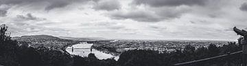 Panorama van Boedapest, Hongarije van ElkeS Fotografie