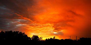 Fire Sky sur Katja Waltmans