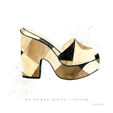 Strand glamour v, Mercedes Lopez Charro van Wild Apple