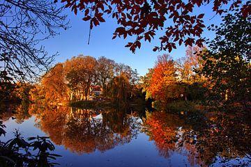 Herbst am See von Edgar Schermaul