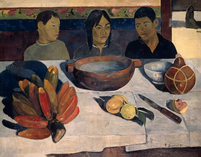 Paul Gauguin. The Meal von 1000 Schilderijen