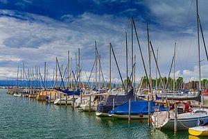 Hafen in Seebruck (Chiemsee)