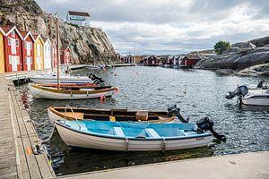 Hafen von Smögen Schweden von Maurice Volmeyer