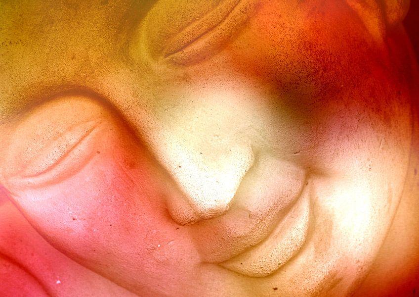 Lightning Buddha face