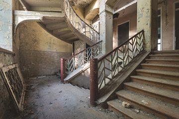 Escalier Courbé sur Perry Wiertz