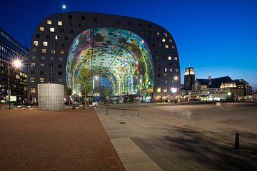 Halle du marché Rotterdam sur Paula Romein