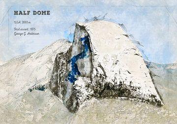Half Dome, Yosemite, USA von Theodor Decker