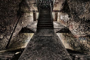 Fort Chartreuse - Urban exploring België von Frens van der Sluis