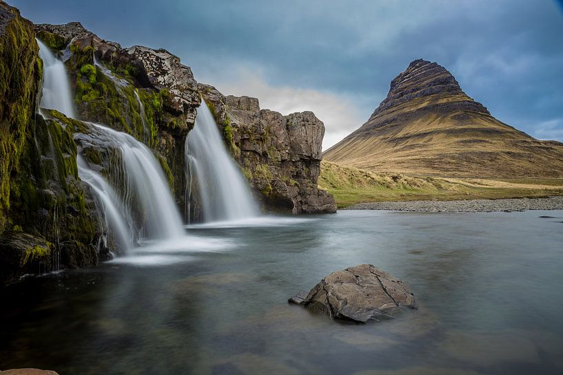 Kirkjufell, Snæfellsnes, IJsland van Chris Snoek