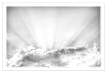 Achter de wolken schijnt altijd de zon van Willy Sybesma