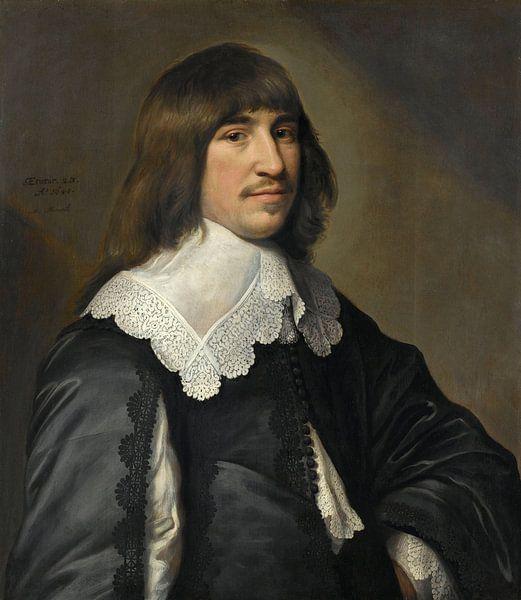 Portret van Henrick Hooft, Michiel Jansz. van Mierevelt van Meesterlijcke Meesters