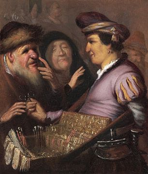 De Brillenverkoper, Rembrandt van Rijn