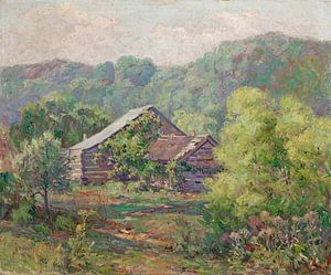 Will Vawter-Barnes-Hütte in Owl Creek, Brown County