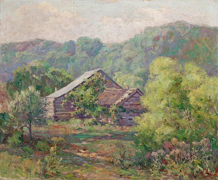 Will Vawter-Barnes-Hütte in Owl Creek, Brown County von finemasterpiece