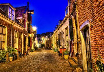 Oud straatje van Kei(stad) Donker