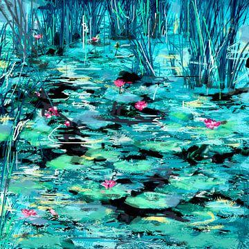 Homage aan Monet sur Dray van Beeck